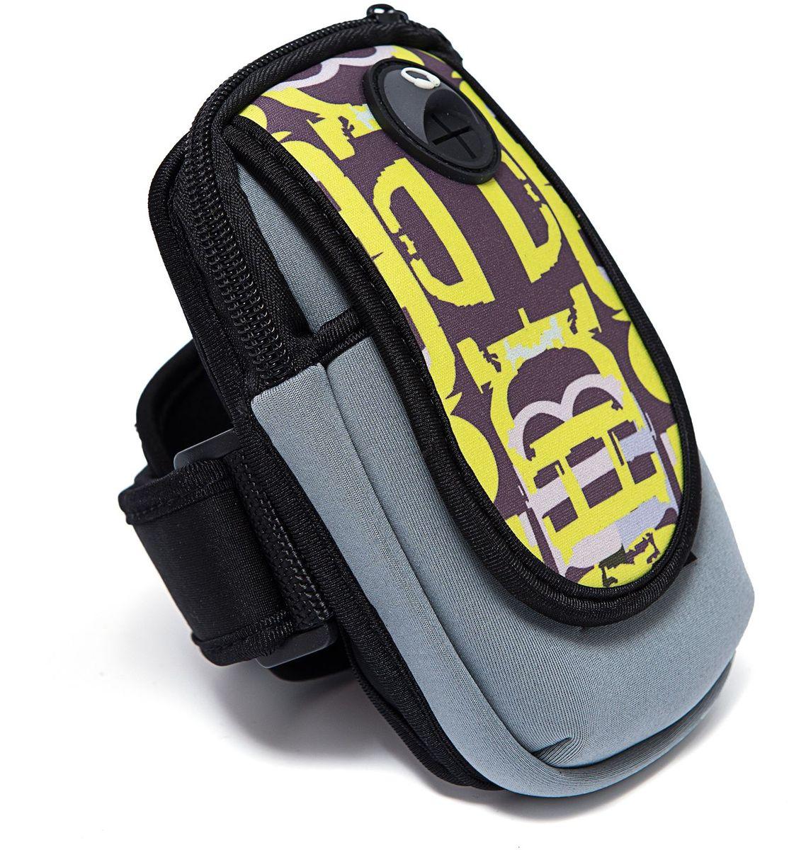 Органайзер Homsu, цвет: желтый, 15 х 9 смR-139Органайзер на руку - оригинальный и практичный аксессуар, выполнен в яркой расцветке, имеет отверстие для наушников, удобно крепится на руку. Незаименимая вещь для тех, кто ведет активный образ жизни. Размер изделия: 15х9см