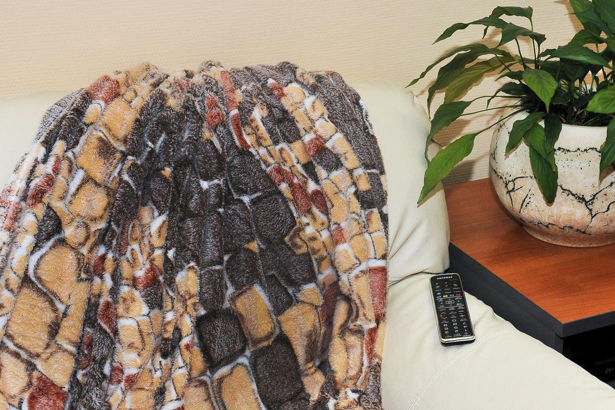 Плед Cleo Кирпичики, цвет: коричневый, 180 х 200 см182/011-pbПлед Бамбук (микрофибра) Коллекция пледов Cleo Бамбук– Тепло и нежность для вас! Пледы сделаны из инновационного материала – Микрофибра, тактильно напоминает Бамбук. Микрофибра (микроволокно)- прорыв в синтетической промышленности, волокна представляют собой очень тонкие волокна, тоньше человеческого волоса. Благодаря свой структуре, микрофибра имеет ряд преимуществ: -отличные впитывающие свойства и способность пропускать воздух, под пледами будет комфортно и зимой и летом; -структура микроволокна позволяет окрашивать в различные цвета, т.к. при дальнейшем уходе краски не выцветают и не линяют, не смотря на простоту в уходе; -пледами можно укрываться и не бояться, что на вашей одежде останутся следы ворса; -пледы прослужат невероятно долго. Коллекция Пледов CLEO Бамбук-невероятное разнообразие дизайнов, нежность и комфорт вашей семьи в любое время года!