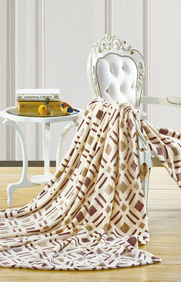 Плед Cleo Гулерт, цвет: коричневый, 180 х 200 см180/105-pbПлед Бамбук (микрофибра) Коллекция пледов Cleo Бамбук– Тепло и нежность для вас! Пледы сделаны из инновационного материала – Микрофибра, тактильно напоминает Бамбук. Микрофибра (микроволокно)- прорыв в синтетической промышленности, волокна представляют собой очень тонкие волокна, тоньше человеческого волоса. Благодаря свой структуре, микрофибра имеет ряд преимуществ: -отличные впитывающие свойства и способность пропускать воздух, под пледами будет комфортно и зимой и летом; -структура микроволокна позволяет окрашивать в различные цвета, т.к. при дальнейшем уходе краски не выцветают и не линяют, не смотря на простоту в уходе; -пледами можно укрываться и не бояться, что на вашей одежде останутся следы ворса; -пледы прослужат невероятно долго. Коллекция Пледов CLEO Бамбук-невероятное разнообразие дизайнов, нежность и комфорт вашей семьи в любое время года!