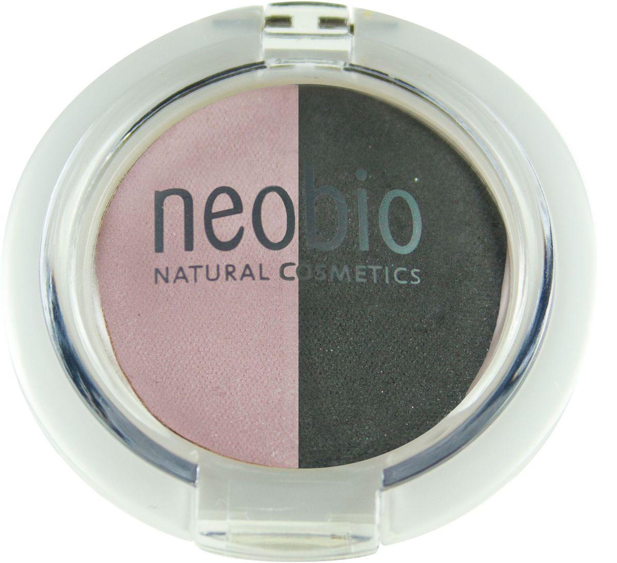 Neobio Двойные тени для век, тон № 01 (розовый бриллиант), 2,5 г62054Тени для век Neobio легко наносятся, не скатываются и не осыпаются, держатся в течение дня. В результате нанесения получается элегантный макияж глаз и в тоже время надежный уход и защита за Вашей кожей. Благодаря своему натуральному составу тени Neobio подходят для чувствительных глаз, а также при ношении контактных линз. Тени содержат безвредные деликатные красящие пигменты, одобренные международной сертификацией NATRUE. Входящие в состав органическое масло макадамии, органическое масло клещевины и витамин Е благотворно влияют на кожу век, увлажняют ее и смягчают. Слюда оказывает противовоспалительный эффект, поглощает излишки жира и матирует. Двойные тени розовый бриллиант идеально подойдут для NUDE макияжа. В комбинации с оттенком туманная ночь легкий NUDE превратится в вечерний макияж. Натуральность продукта подтверждена международным сертификатом NATRUE. Продукт прошел дерматологический контроль. Состав: Тальк, слюда, триглицерид каприловой/каприновой кислоты,...