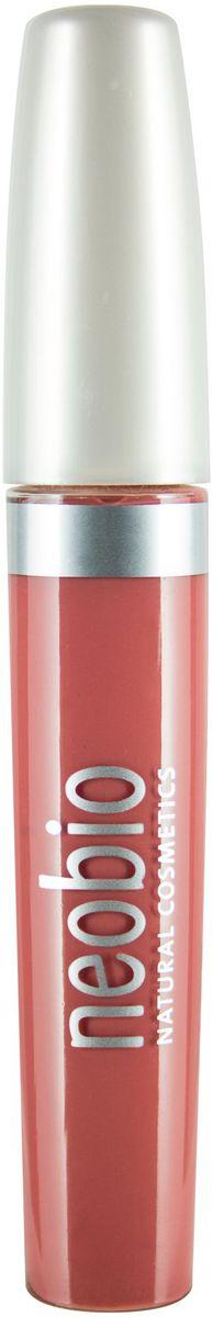 Neobio Care Блеск для губ, тон № 01 (натурально-розовый), 8 мл