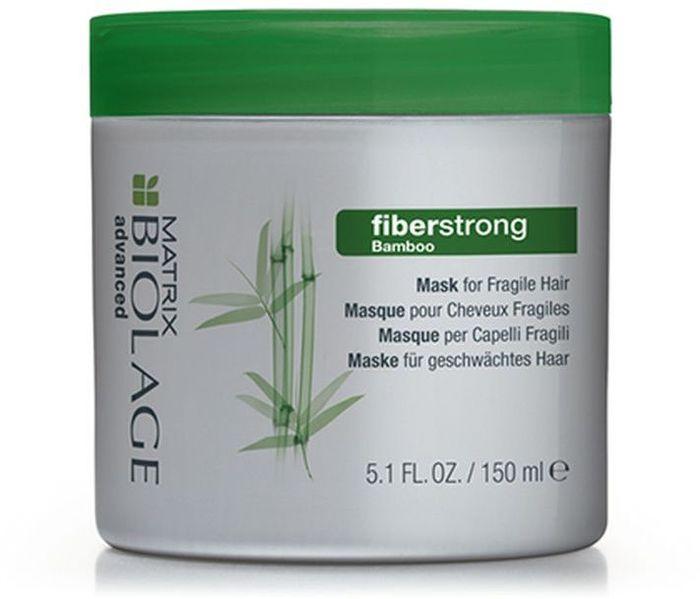 Matrix Biolage Fiberstrong Маска для укрепления ломких и ослабленных волос, 150 млP0685401Маска Biolage FIBERSTRONG (Файберстронг) делает слабые волосы сильнее, обогащена запатентованной молекулой INTRA-CYLANE™ (Интра-Силан), а также экстрактом бамбука и керамидами, восстанавливающими структуру волос. Усиливает ослабленные участки, оздоравливая волосы и делая их мягкими*. - Без парабенов. *При использовании системы из Файберстронг шампуня, кондиционера/маски и укрепляющего крема Intra-Cylane™ по сравнению с шампунем без кондиционирующих свойств.