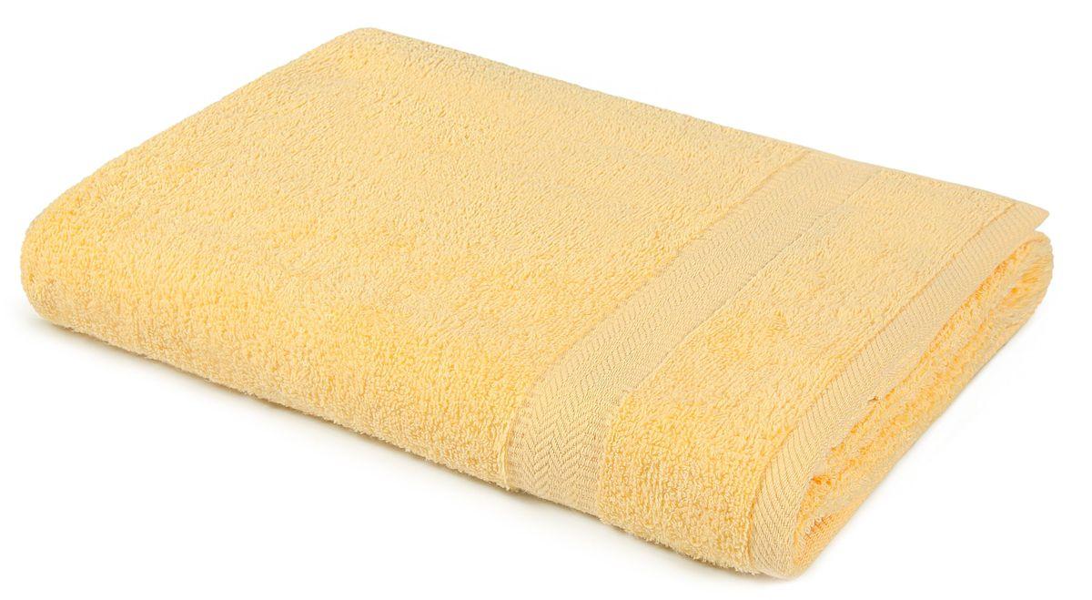 Полотенце Aquarelle Настроение, цвет: светло-желтый, 70 х 140 см702543