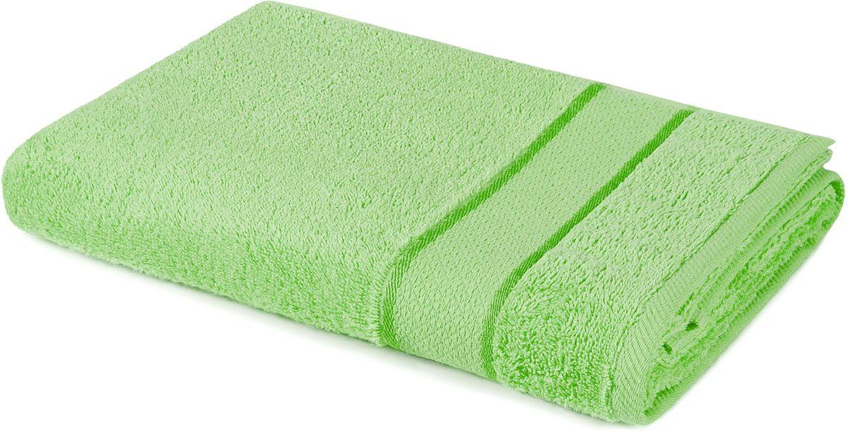 Полотенце Aquarelle Весна, цвет: светло-зеленый, 70 х 140 см702566