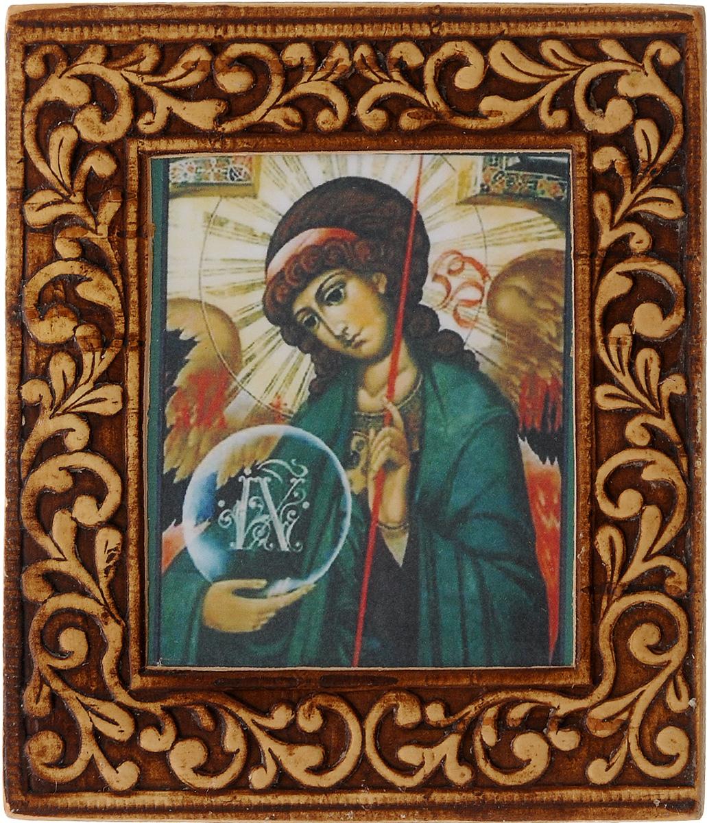 Икона Sima-land Архангел Гавриил, 6 х 6,5 см583641_Архангел ГавриилИкона Sima-land Архангел Гавриил изготовлена из бересты. Легкая и миниатюрная, такая икона будет прекрасным подарком с духовной составляющей.