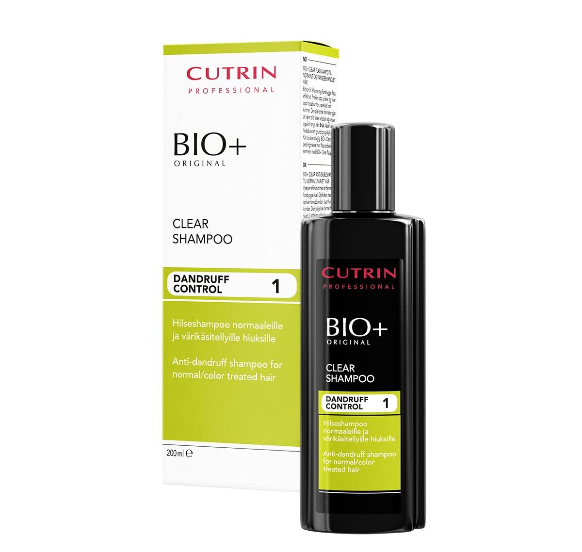 Cutrin Bio+ Шампунь против перхоти для нормальных и окрашенных волос, 200 млCUD06-14800Новая оригинальная отдушка цитруса, мяты и зеленого чая освежает волосы и кожу головы. Эффективно, но деликатно устраняет перхоть и предотвращает ее повторное появление. Делает волосы послушными, облегчает расчесывание. Подходит для ежедневного применения.