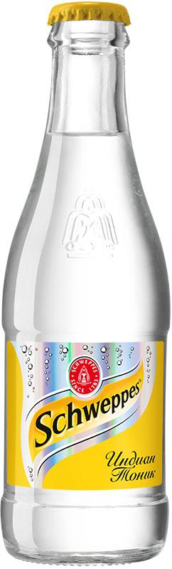 Schweppes Индиан Тоник — классический представитель марки, напиток с хинином, изобретённый в период британского правления в колониальной Индии. Хинин – экстракт из коры хинного дерева с сильным горьким вкусом