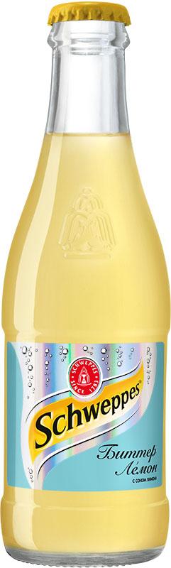 Schweppes Биттер Лемон напиток сильногазированный, 0,25 л 352403