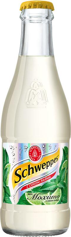 Schweppes Мохито напиток сильногазированный, 0,25 л 1378601