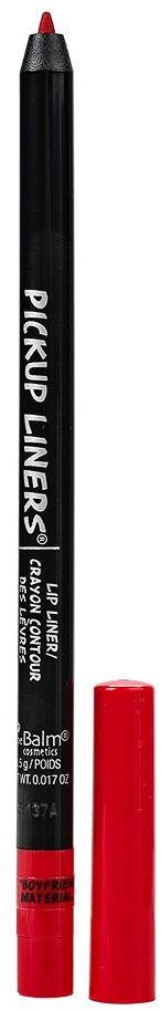 theBalm PickUp Liners Устойчивый карандаш для губ, Boyfriend Material, 0,5 г806490Устойчивый и высокопигментированный карандаш для губ theBalm предотвращает растекание помад и блесков. Дает максимальную интенсивность цвета и идеальное покрытие. Длительное время держится на губах, не размазывается.