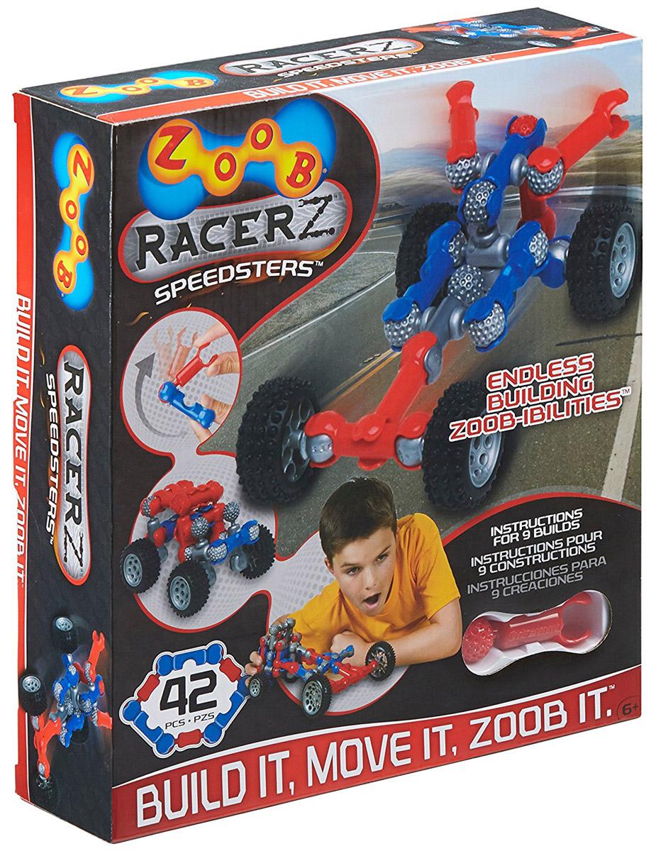 Zoob Конструктор Racer12051Zoob - подвижный многовариантный конструктор, завоевавший внимание детей и их родителей во всем мире. Конструктор Zoob Racer - прекрасный набор для юных изобретателей, который поможет детям ощутить себя одновременно в роли проектировщика, создателя и гонщика. В набор входят 37 деталей ярких цветов. Юный инженер сможет собирать уже существующие в инструкции пошаговые схемы моделей или разрабатывать свои собственные. Вы можете создавать свои гоночные болиды или внедорожные багги, а затем наслаждаться игрой с ними! У наборов ZOOB практически не существует уникальных деталей. Всех их можно использовать в любой из моделей конструктора. Элементы конструктора Zoob соединяются между собой более чем 20 различными способами. Представьте ту безграничность вариантов моделей, которые можно создать с помощью конструктора Zoob! В процессе игры с конструктором ZOOB у детей развиваются пространственное воображение, творческие способности и навыки конструирования...