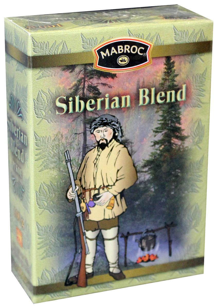 Mabroc Древние легенды. Сибирская смесь чай черный листовой, 100 г4791029061481Коллекция Древние легенды является визитной карточкой Маброк и включает в себя наиболее престижные, известные и дорогие сорта. Это удивительный ассортимент чаев с плантаций Маброк, со вкусом, одновременно подходящим для сибирского климата и передающий изысканный вкус Востока. Цейлонский черный байховый чай. Сибирская смесь производится из особых скрученных листьев чая, выращенного в восточном районе Шри-Ланки. Как только чай заварен, лист приобретает яркий медный цвет, что указывает на высокое качество чая. Этот купаж отличается высокой крепостью и пользуется особым спросом у любителей по настоящему крепких чаев.