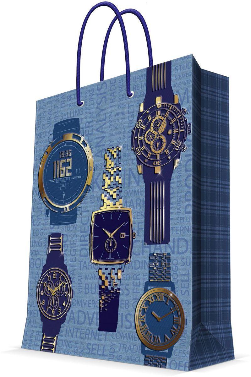 Пакет подарочный Magic Home Мужские часы, 26 х 32,4 х 12,7 см44220Подарочный пакет Magic Home, изготовленный из плотной бумаги, станет незаменимым дополнением к выбранному подарку. Дно изделия укреплено картоном, который позволяет сохранить форму пакета и исключает возможность деформации дна под тяжестью подарка. Пакет выполнен с глянцевой ламинацией, что придает ему прочность, а изображению - яркость и насыщенность цветов. Для удобной переноски имеются две ручки в виде шнурков. Подарок, преподнесенный в оригинальной упаковке, всегда будет самым эффектным и запоминающимся. Окружите близких людей вниманием и заботой, вручив презент в нарядном, праздничном оформлении. Плотность бумаги: 140 г/м2.