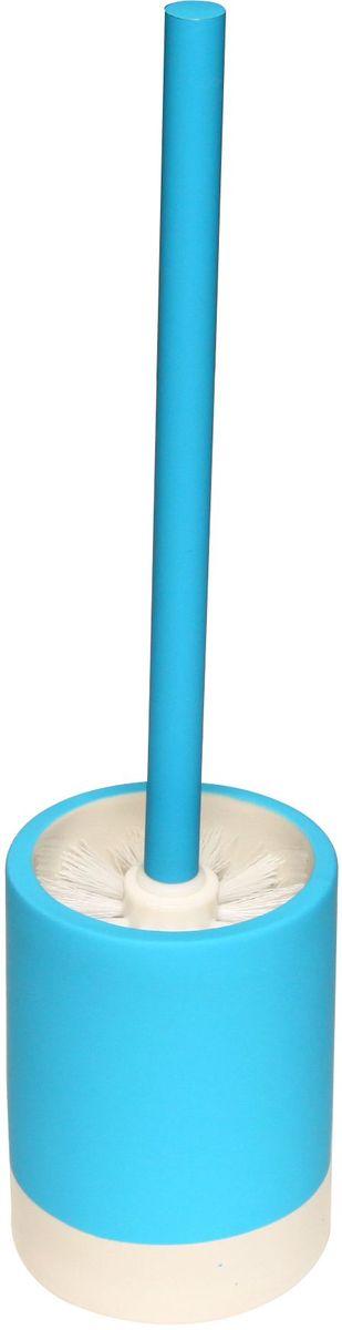 Ершик для унитаза Proffi Home, с чашей, цвет: голубой. PH6468PH6468Ершик в комплекте с подставкой - оптимальный выбор. Он всегда у вас под рукой и вы решаете проблему хранения ершика. Этот комплект выполнен из керамики и отличается устойчивостью и простотой в уходе. Керамика выгодно отличается от других материалов в первую очередь натуральностью и благородным внешним видом. Этот материал устойчив к перепадам температур, повышенной влажности и бытовым химическим средствам. Каучуковое покрытие обеспечивает антискользящий эффект. Возможность съемного чистящего элемента. Когда щетка придет в негодность, вам нужно будет купить только ее. Благодаря лаконичной форме такой аксессуар отлично впишется в любой интерьер ванной комнаты и станет ее украшением. Материал: керамика, каучук. Страна-изготовитель: Китай. Размеры: 9.5*9.5*13(33.5)см.