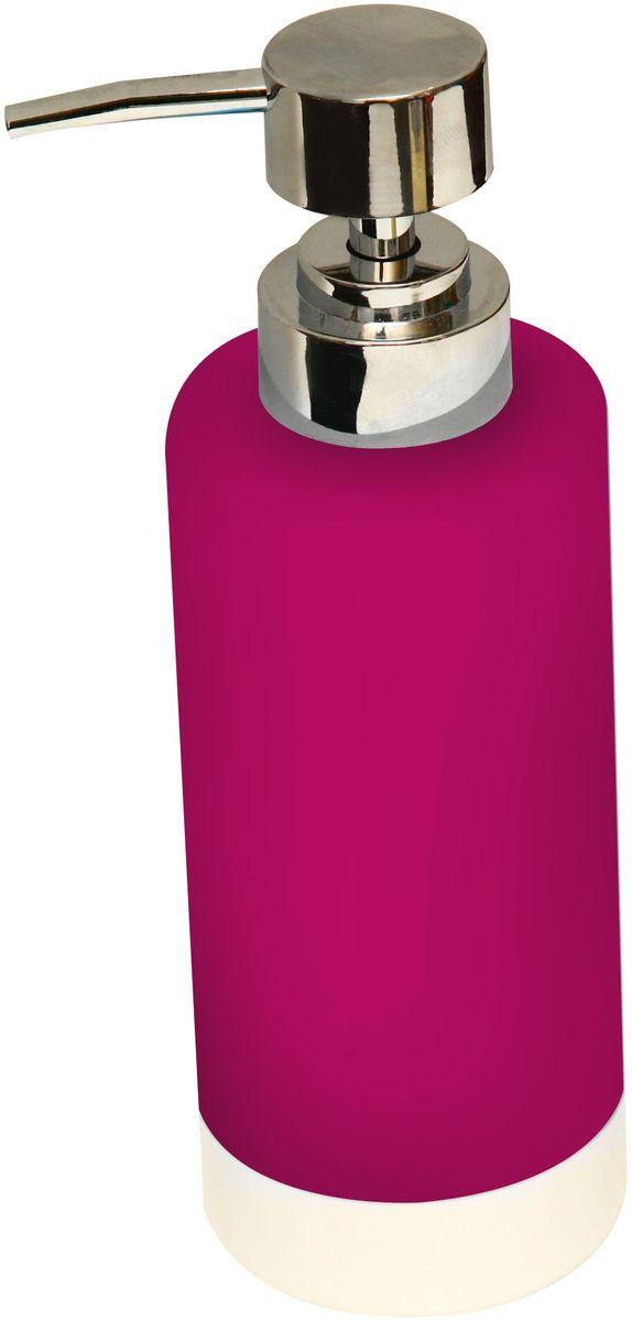 Диспенсер для мыла Proffi Home, цвет: красный, 350 мл. PH6474PH6474Диспенсер для жидкого мыла - незаменимый аксессуар для тех, кто ценит чистоту своей раковины и экономный расход мыла. Вы можете легко переставлять его при необходимости. Этот диспенсер выполнен из керамики. Керамика выгодно отличается от других материалов в первую очередь натуральностью и благородным внешним видом. Этот материал устойчив к перепадам температур, повышенной влажности и бытовым химическим средствам. Каучуковое покрытие обеспечивает антискользящий эффект. Благодаря лаконичной форме такой аксессуар отлично впишется в любой интерьер ванной комнаты и станет ее украшением. Материал: керамика, каучук. Размеры изделия: 6*6*13 см. Страна-изготовитель: Китай.