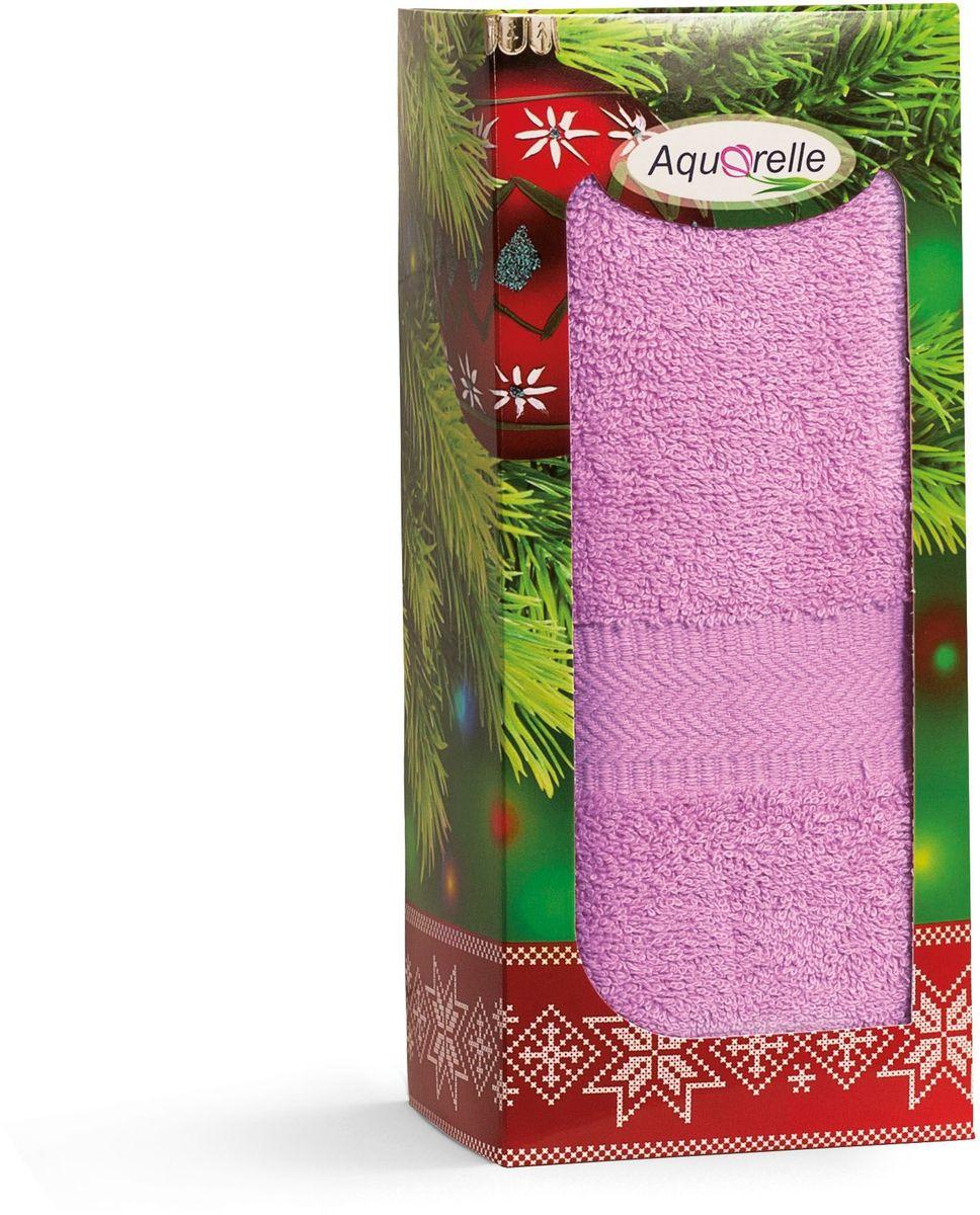 Полотенце Aquarelle Настроение, цвет: орхидея, 50 х 90 см. 706225706225