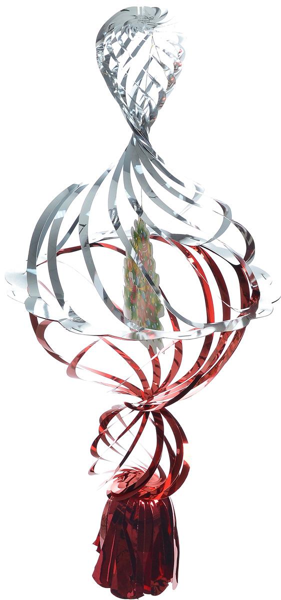 Украшение новогоднее подвесное Winter Wings Елочка, цвет: красный, серебристый, 40 х 20 х 20 смN09176_красный, золотистыйНовогоднее украшение Winter Wings Елочка прекрасно подойдет для декора дома и праздничной елки. Изделие выполнено из ПВХ. С помощью специальной петельки украшение можно повесить в любом понравившемся вам месте. Легко складывается и раскладывается. Новогодние украшения несут в себе волшебство и красоту праздника. Они помогут вам украсить дом к предстоящим праздникам и оживить интерьер по вашему вкусу. Создайте в доме атмосферу тепла, веселья и радости, украшая его всей семьей.
