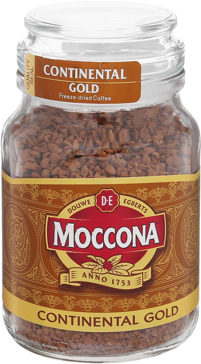Moccona Continental Gold кофе растворимый, 95 г (стеклянная банка)4607185280010Moccona Continental Gold - это натуральный растворимый сублимированный кофе. Его терпкий вкус и аромат помогут вам взбодриться где бы вы не были.