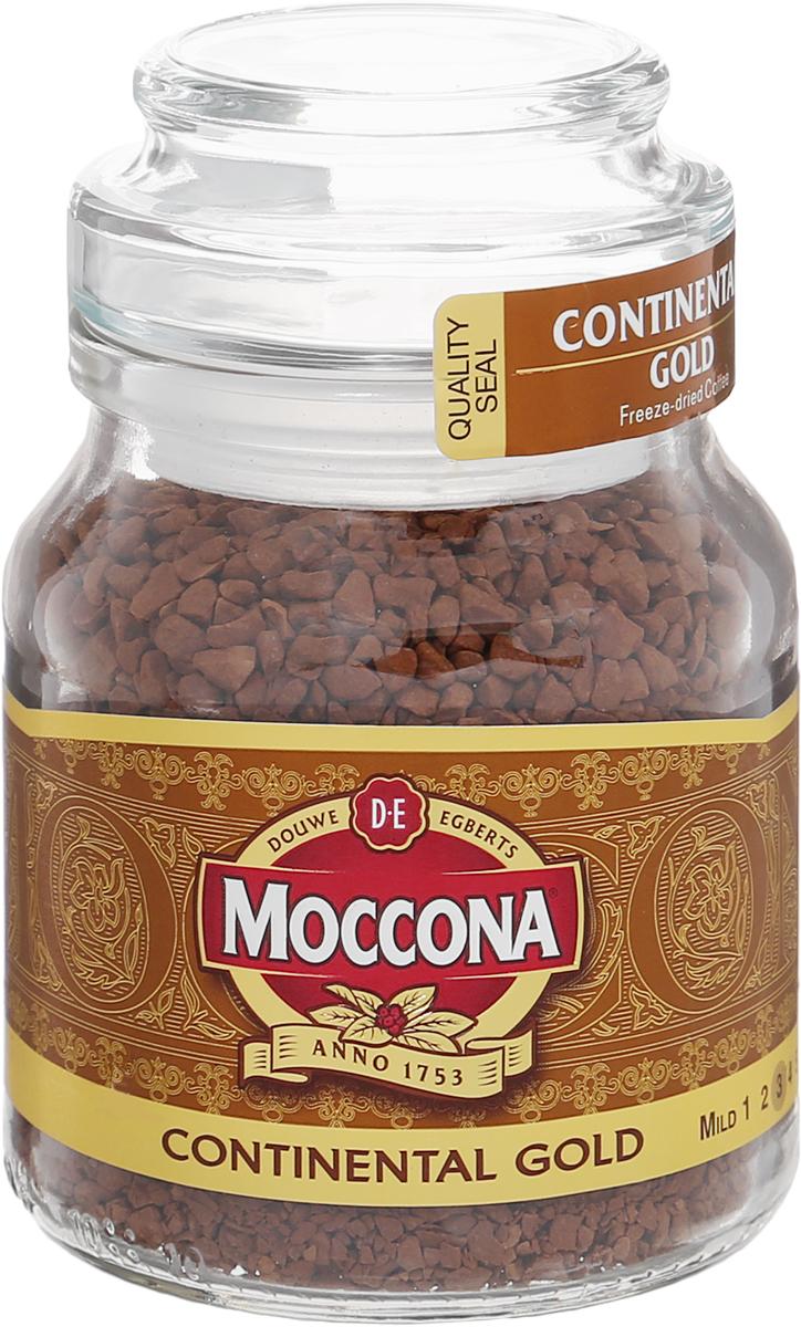 Moccona Continental Gold кофе растворимый, 47,5 г (стеклянная банка)8711000246269Moccona Continental Gold - это натуральный растворимый сублимированный кофе. Его терпкий вкус и аромат помогут вам взбодриться где бы вы не были.