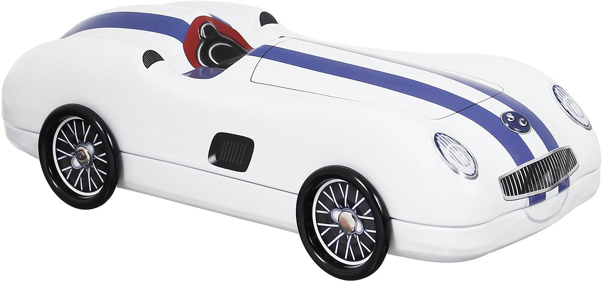 Сладкая Сказка Белый автомобиль печенье с кусочками шоколада, 200 гSS.LX4_белыйСладкая Сказка Белый автомобиль - вкуснейшее сдобное печенье с кусочками шоколада, упакованное в оригинальную банку в виде автомобиля. Идеальный подарок к любому значимому событию. Уважаемые клиенты! Обращаем ваше внимание, что полный перечень состава продукта представлен на дополнительном изображении.