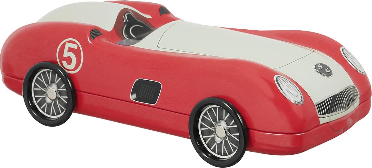 Сладкая Сказка Красный автомобиль печенье с кусочками шоколада, 200 гSS.LX4_красныйПеченье с кусочками шоколада Сладкая Сказка Красный автомобиль - вкуснейшее сдобное печенье с кусочками шоколада, упакованное в оригинальную банку в виде автомобиля красного цвета. Идеальный подарок к любому значимому событию. Уважаемые клиенты! Обращаем ваше внимание, что полный перечень состава продукта представлен на дополнительном изображении.