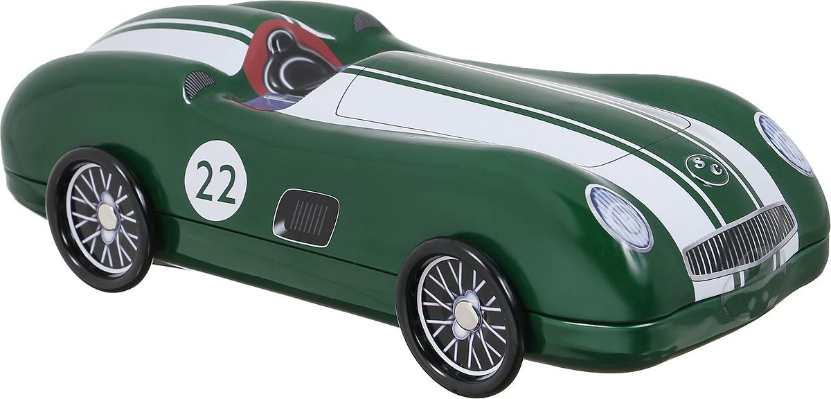 Сладкая Сказка Зеленый автомобиль печенье с кусочками шоколада, 200 гSS.LX4_зеленыйСладкая Сказка Зеленый автомобиль - вкуснейшее сдобное печенье с кусочками шоколада, упакованное в оригинальную банку в виде автомобиля. Идеальный подарок к любому значимому событию. Уважаемые клиенты! Обращаем ваше внимание, что полный перечень состава продукта представлен на дополнительном изображении.