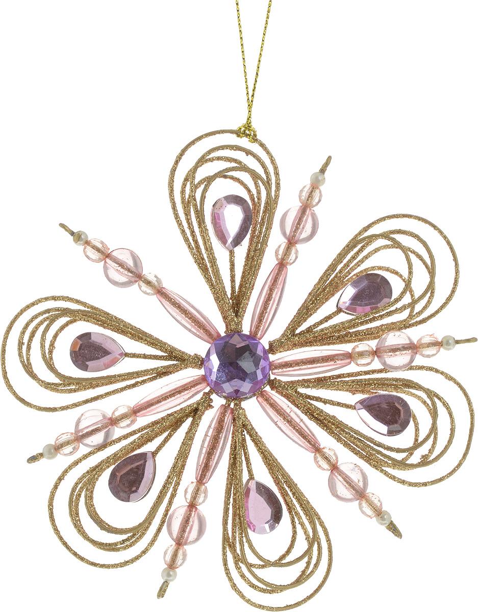 Украшение новогоднее подвесное Erich Krause Снежинка с капельками, диаметр 12 см27548_с капелькамиНовогоднее украшение Erich Krause Снежинка с капельками прекрасно подойдет для праздничного декора новогодней ели. Изделие выполнено из металла в виде снежинки, украшено сверкающими камнями и покрыто блестками. Для удобного размещения на елке предусмотрена текстильная петелька. Елочная игрушка - символ Нового года. Она несет в себе волшебство и красоту праздника. Создайте в своем доме атмосферу веселья и радости, украшая новогоднюю елку нарядными игрушками, которые будут из года в год накапливать теплоту воспоминаний.