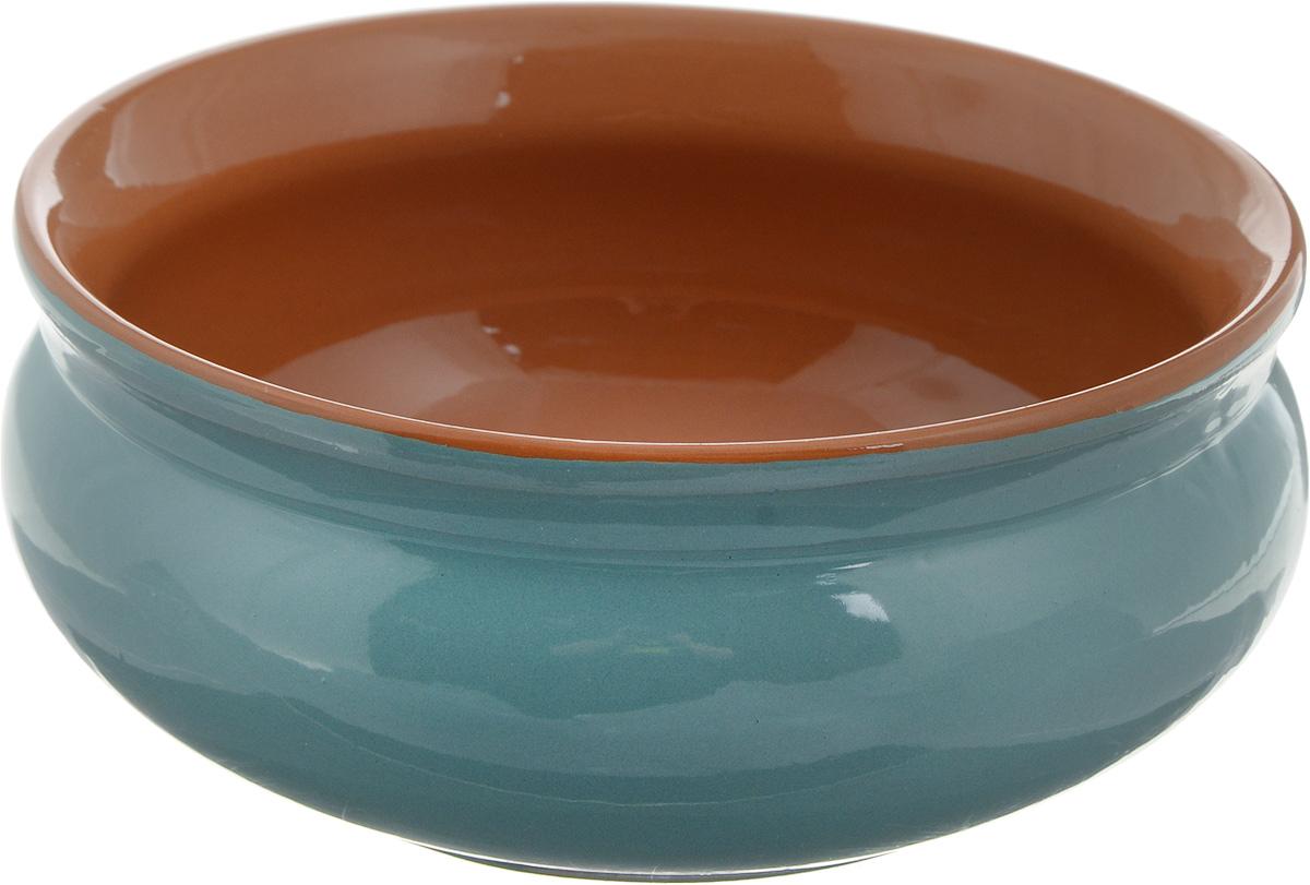Тарелка глубокая Борисовская керамика Скифская, цвет: бирюзовый, коричневый, 500 млРАД14458194 _бирюзовый, коричневыйГлубокая тарелка Борисовская керамика Скифская выполнена из керамики. Изделие сочетает в себе изысканный дизайн с максимальной функциональностью. Она прекрасно впишется в интерьер вашей кухни и станет достойным дополнением к кухонному инвентарю. Такая тарелка подчеркнет прекрасный вкус хозяйки и станет отличным подарком. Можно использовать в духовке и микроволновой печи. Диаметр тарелки (по верхнему краю): 14 см.