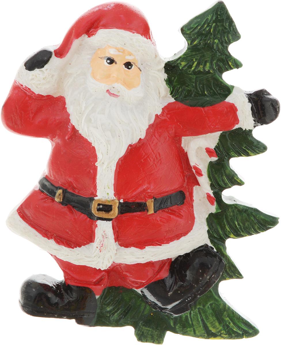 Магнит House & Holder Дед Мороз, цвет: красный, белый, зеленый, 5 х 1,5 х 6 смDP-B84-4483PL/-1_красный, белыйМагнит House & Holder Дед Мороз, выполненный из полистоуна, прекрасно подойдет в качестве сувенира к Новому году или станет приятным презентом в обычный день. Магнит - одно из самых простых, недорогих и при этом оригинальных украшений интерьера. Он поможет вам украсить не только холодильник, но и любую другую магнитную поверхность.