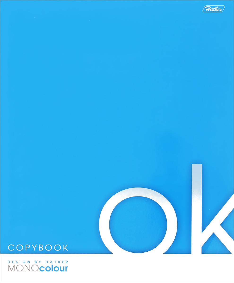 Hatber Тетрадь Mono Colour в клетку 80 листов цвет голубой80Т5B1к_03482Тетрадь Hatber отлично подойдет для занятий, как школьнику, так и студенту. Яркая обложка голубого цвета, выполненная из плотного картона, позволит сохранить тетрадь в аккуратном состоянии на протяжении всего времени использования. Внутренний блок тетради состоит из 80 листов без полей.