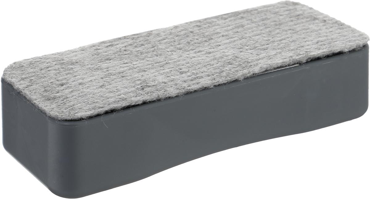 Silwerhof Стиратель для офисной доски Elegance магнитный659002-02Стиратель для офисных досок Silwerhof Elegance - неотъемлемый атрибут любого офиса. Он предназначена для удаления надписей с магнитно-маркерных досок. Стиратель имеет прямоугольную форму. Верхняя его часть изготовлена из полипропилена, а стирающий элемент выполнен из нетканого материала.
