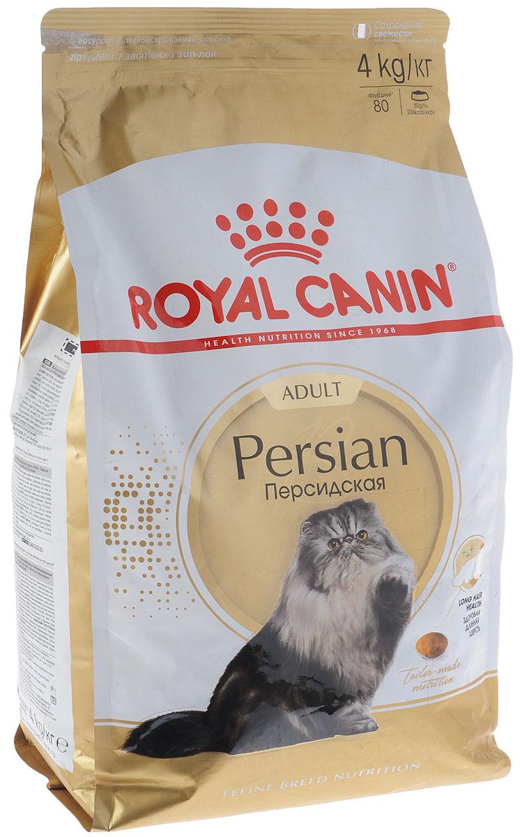 Корм сухой Royal Canin Persian Adult, для взрослых кошек персидских пород старше 12 месяцев, 4 кг453040-538040_новинкаКорм сухой Royal Canin Persian Adult - разработан специально для взрослых кошек персидских пород старше 12 месяцев. Предки персидских кошек были любимцами европейской аристократии, и до сих пор эта порода остается наиболее известной и почитаемой во всем мире! Персидскую кошку ценят не только за ее невероятную красоту, но и за благородный мягкий характер. Спокойствие и безмятежность - вот жизненное кредо этой утонченной аристократки. Продукт Persian Adult содержит эксклюзивный комплекс нутриентов, помогающих поддерживать функцию кожного барьера и таким образом сохранять здоровье кожи и шерсти. Формула обогащена жирными кислотами Омега 3 и Омега 6. Значительная длина и плотность шерсти персидских кошек приводит к заглатыванию большого количества шерсти при повседневном уходе. Особое сочетание различных видов клетчатки стимулирует кишечный транзит и естественным образом сокращает образование волосяных комочков. Продукт поддерживает здоровье пищеварительной системы и баланс...