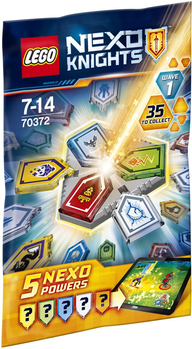 LEGO NEXO KNIGHTS Конструктор Комбо NEXO Силы 1 полугодие 7037270372В запечатанном таинственном пакете хранятся пять NEXO Сил. Какие из них вы выберете, чтобы победить Монстрокса в бесплатном приложении LEGO NEXO KNIGHTS МЕРЛОК 2.0? Используйте одновременно три NEXO Силы в комбинации с NEXO щитом, а затем отсканируйте их, чтобы обнаружить уникальные возможности и найти способ уничтожить армию Каменных монстров. Вы можете получить целых 35 NEXO Сил! У вас имеется несколько возможностей стать героем!