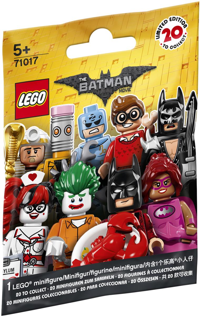 LEGO Minifigures Конструктор Хвостовоз Убийцы Крока 7101771017Создай свои собственные захватывающие сцены ЛЕГО ФИЛЬМА с помощью этой удивительной коллекции минифигурок, выпущенной ограниченным тиражом, в которую входят Бэтмен — любитель лобстеров, Стиратель, Мастер Зодиак, Царь Тут, Бэтгёрл в розовом, Дик Грейсон, Касатка, Бэтмен-фея, Бэтмен в блестящем металлическом костюме, Бэтмен из Клана пещеры, Бэтмен в отпуске, Джокер в Аркхеме, Человек-Калькулятор, Красный Колпак, Комиссар Гордон, Барбара Гордон, Марч Гарриет, Мим, Кэтмен, Медсестра Харли Квин. К каждой искусно изготовленной минифигурке прилагается демонстрационная пластина и брошюра коллекционера. Какая фигурка ждет тебя в следующей закрытой упаковке?