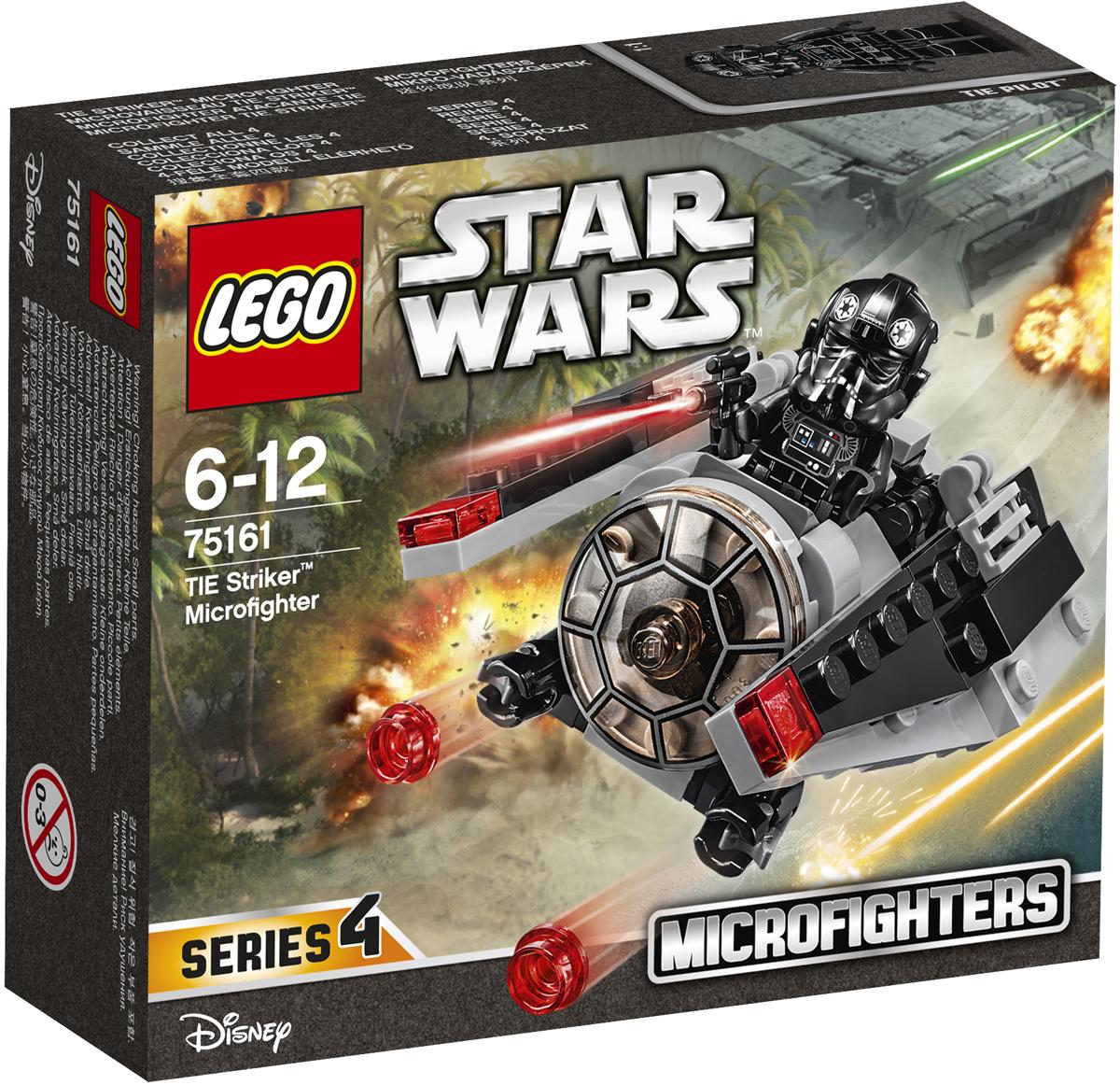 LEGO Star Wars Конструктор Микроистребитель-штурмовик TIE 7516175161Сдерживайте силы Повстанцев при помощи невероятного микроистребителя-штурмовика TIE. Сложите его крылья, зарядите оружие, посадите пилота в кабину и будьте готовы отбить атаку врага! Набор включает в себя 88 разноцветных элементов и минифигурку. Конструктор - это один из самых увлекательных и веселых способов времяпрепровождения. Ребенок сможет часами играть с конструктором, придумывая различные ситуации и истории.