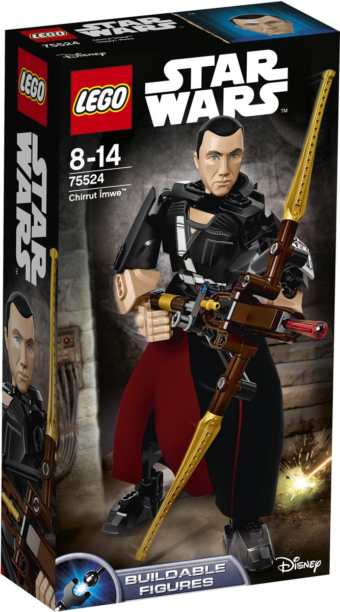 LEGO Star Wars Конструктор Чиррут Имве 7552475524Слепота не мешает воину-монаху умело сражаться с Империей. Постройте сборную фигуру, придумайте для неё боевую позу, возьмите в руки арбалет, зарядите оружие и приготовьтесь к бою. Империи стоит опасаться этого решительного бойца. Набор включает в себя 87 разноцветных элементов. Конструктор - это один из самых увлекательных и веселых способов времяпрепровождения. Ребенок сможет часами играть с конструктором, придумывая различные ситуации и истории.
