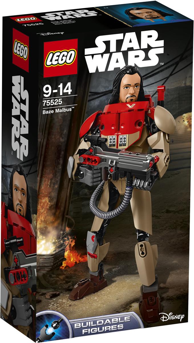 LEGO Star Wars Конструктор Бэйз Мальбус 7552575525Помогите Бэйзу использовать его отточенные в боях навыки, чтобы сражаться с Империей. Постройте сборную фигуру Бэйза Мальбуса, придумайте для него боевую позу, зарядите его тяжелую пушку и будьте готов к атаке. Присоединяйтесь к битве вместе с этим закалённым в боях воином! Набор включает в себя 148 разноцветных элементов. Конструктор - это один из самых увлекательных и веселых способов времяпрепровождения. Ребенок сможет часами играть с конструктором, придумывая различные ситуации и истории.