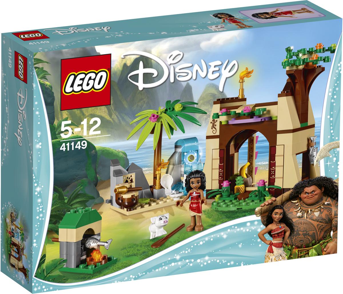LEGO Disney Princesses Конструктор Приключения Моаны на затерянном острове 4114941149Откройте для себя таинственный мир легенд Те Фити вместе с Моаной и поросенком Пуа, которые отправились в гости к бабушке Моаны. А вечером, пока будете готовить на ужин рыбу на костре, изучите карту острова. Отправляйтесь к водопаду и, используйте секретную функцию, помогите Моане найти сердце Те Фити! Сыграйте на барабанах в пещере, чтобы узнать, суждено ли Моане стать таким же великим мореплавателем, какими были ее предки из легенд. Набор включает в себя 205 разноцветных пластиковых элементов. Конструктор - это один из самых увлекательных и веселых способов времяпрепровождения. Ребенок сможет часами играть с конструктором, придумывая различные ситуации и истории.