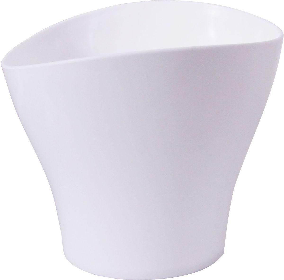 Кашпо Idea Волна, цвет: белый, 0,8 лМ 3102