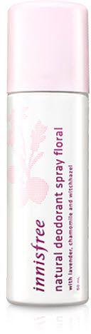 Innisfree Naturel Deodorant Дезодорант-спрей, 50 млУТ-00000269Основу дезодоранта-спрея составляют натуральные экстракты, которые защищают кожу от потовыделения на протяжении 24 часов. Также они смягчают и увлажняют кожу, заботятся о ее здоровье, не забивая поры. Не раздражают даже самую нежную кожу, склонную к аллергической реакции.