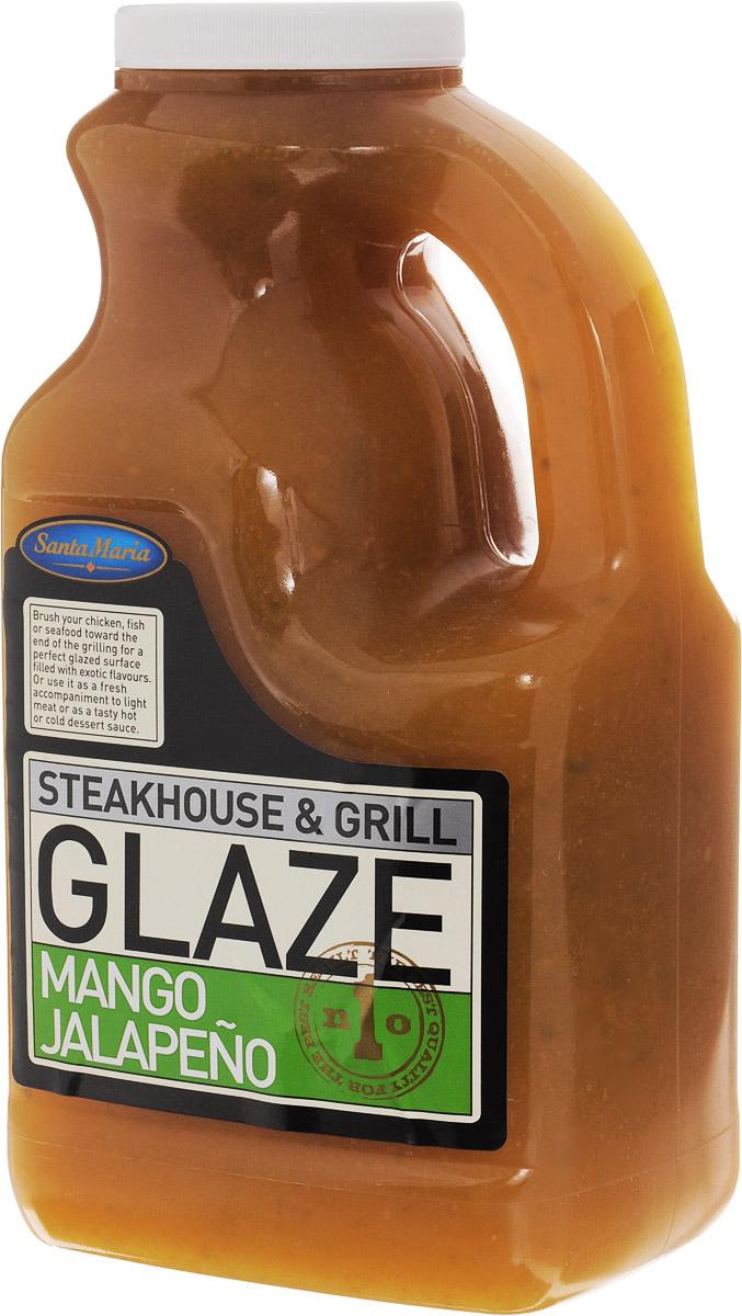 Santa Maria глазировочный соус с манго и халапеньо, 2,16 кг4631Глазировочный соус Santa Maria с манго и халапеньо придает продуктам, обжариваемым на гриле, вкус мягкого манго и остроту перца халапеньо, сохраняя при этом сочность продукта и образуя хрустящую корочку. Его следует наносить в конце обжаривания. Можно использовать как самостоятельный соус. Уважаемые клиенты! Обращаем ваше внимание, что полный перечень состава продукта представлен на дополнительном изображении.