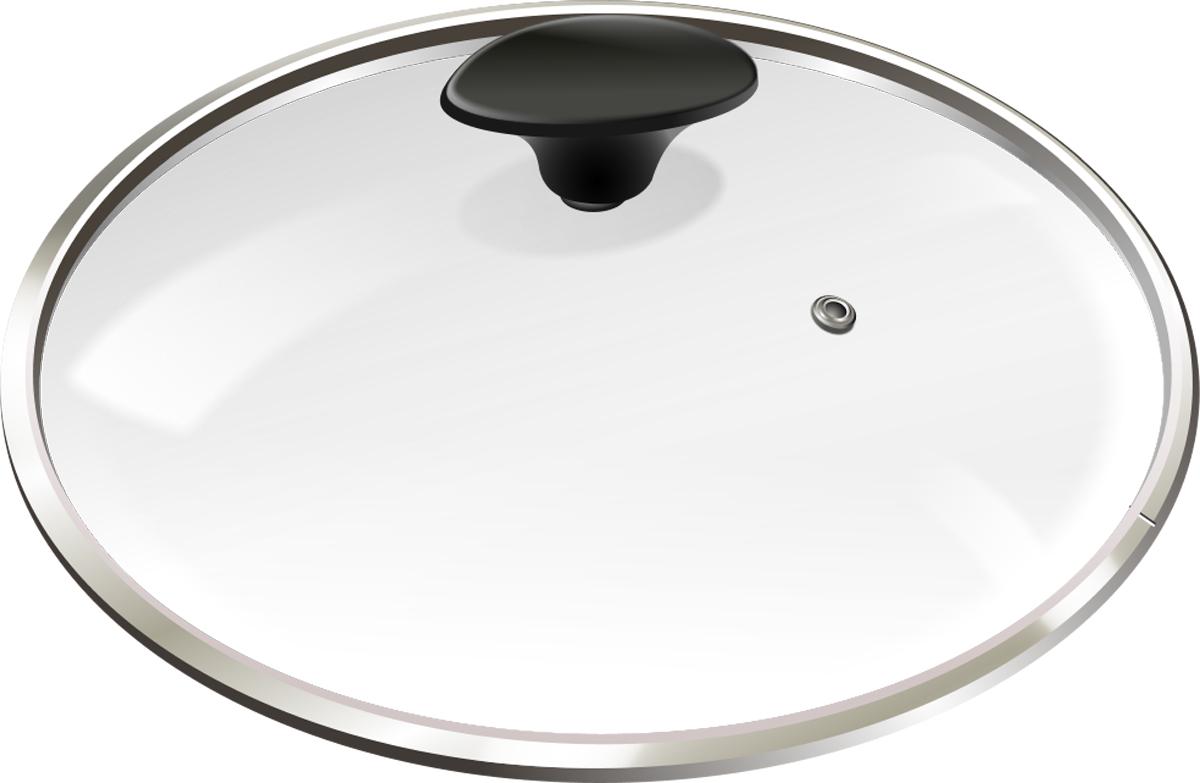 Крышка для посуды Lumme, с паровыпуском, 24 см. LU-GL24LU-GL24крышка 24см из жаропрочного стекла с паровыпуском, подходит для кастрюль, сотейников, сковород