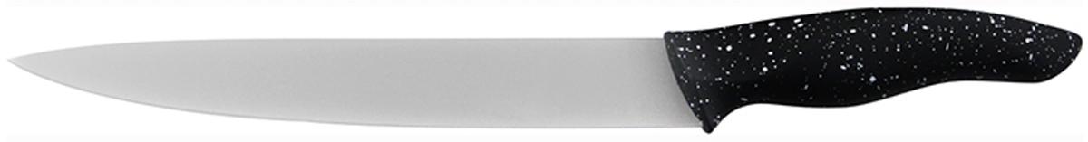 Нож для шинковки Marta Slicer, длина лезвия 20 см. MT-2868MT-2868Нож для шинковки, сталь с КЕРАМИЧЕСКИМ покрытием лезвие 20 см 2 мм