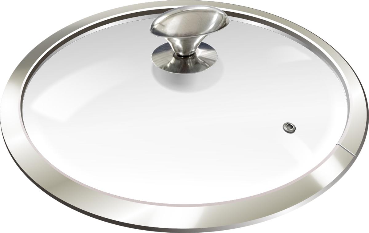 Крышка для посуды Marta, с паровыпуском, 18 см. MT-3761MT-3761крышка 18см из жаропрочного стекла с паровыпуском, полая не нагревающаяся металлическая ручка, широкий металлический обод, подходит для кастрюль и сотейников
