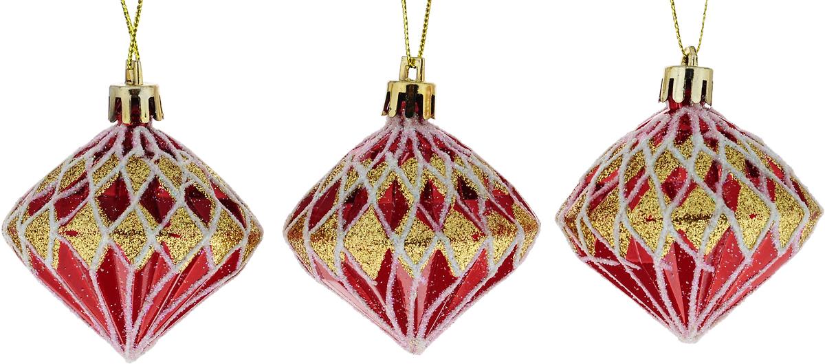Набор новогодних подвесных украшений Winter Wings Кристаллы, 3 штN181872_кристаллыНабор подвесных украшений Winter Wings Кристаллы прекрасно подойдет для праздничного декора новогодней ели. Набор состоит из 3 пластиковых украшений в виде кристаллов. Для удобного размещения на елке для каждого украшения предусмотрено петелька. Елочная игрушка - символ Нового года. Она несет в себе волшебство и красоту праздника. Создайте в своем доме атмосферу веселья и радости, украшая новогоднюю елку нарядными игрушками, которые будут из года в год накапливать теплоту воспоминаний. Откройте для себя удивительный мир сказок и грез. Почувствуйте волшебные минуты ожидания праздника, создайте новогоднее настроение вашим дорогим и близким. Диаметр: 6 см. Длина: 8 см.