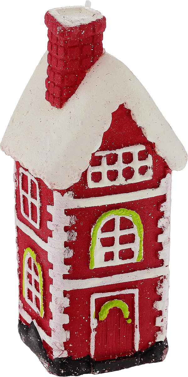 Свеча праздничная Erich Krause Пряничный домик, высота 12,5 см4041485307501Свеча Пряничный домик, изготовленная из парафина, станет прекрасным украшением интерьера помещения в преддверии Нового года. Такая свеча создаст атмосферу таинственности и загадочности и наполнит ваш дом волшебством и ощущением праздника. Хороший сувенир для друзей и близких. Размер: 12,5 х 4,5 см.