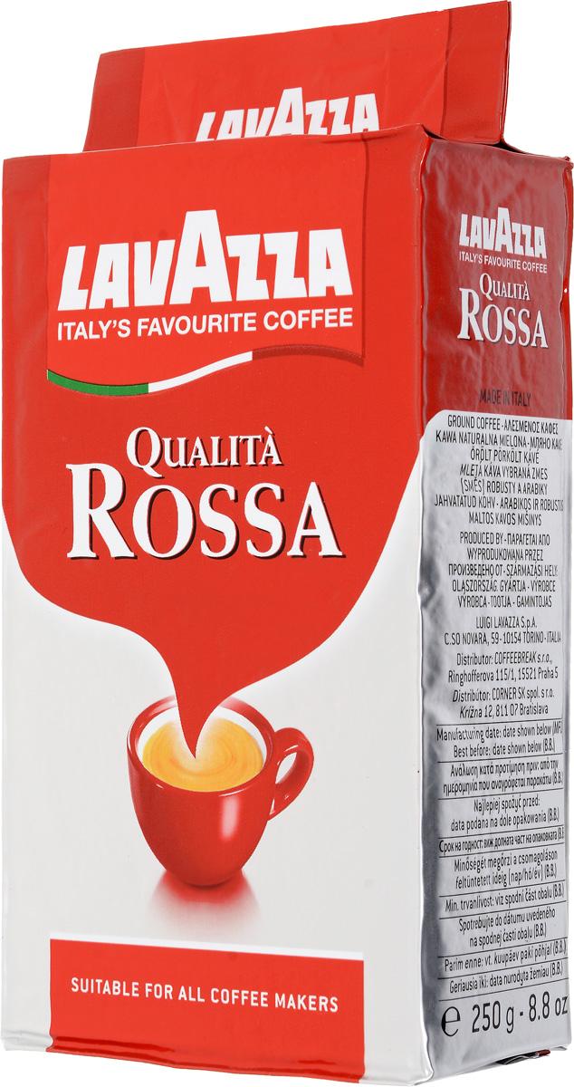 Lavazza Qualita Rossa кофе молотый, 250 г (в/у)3580Lavazza Qualita Rossa - классический ароматный итальянский напиток, который можно попробовать не только дома, но и в многочисленных ресторанах по всему миру. Идеальный купаж арабики (70%) и робусты (30%) дает мягкий и насыщенный кофе, который создан для любителей крепкого вкуса. Он обладает легкой горчинкой с небольшой пенкой.