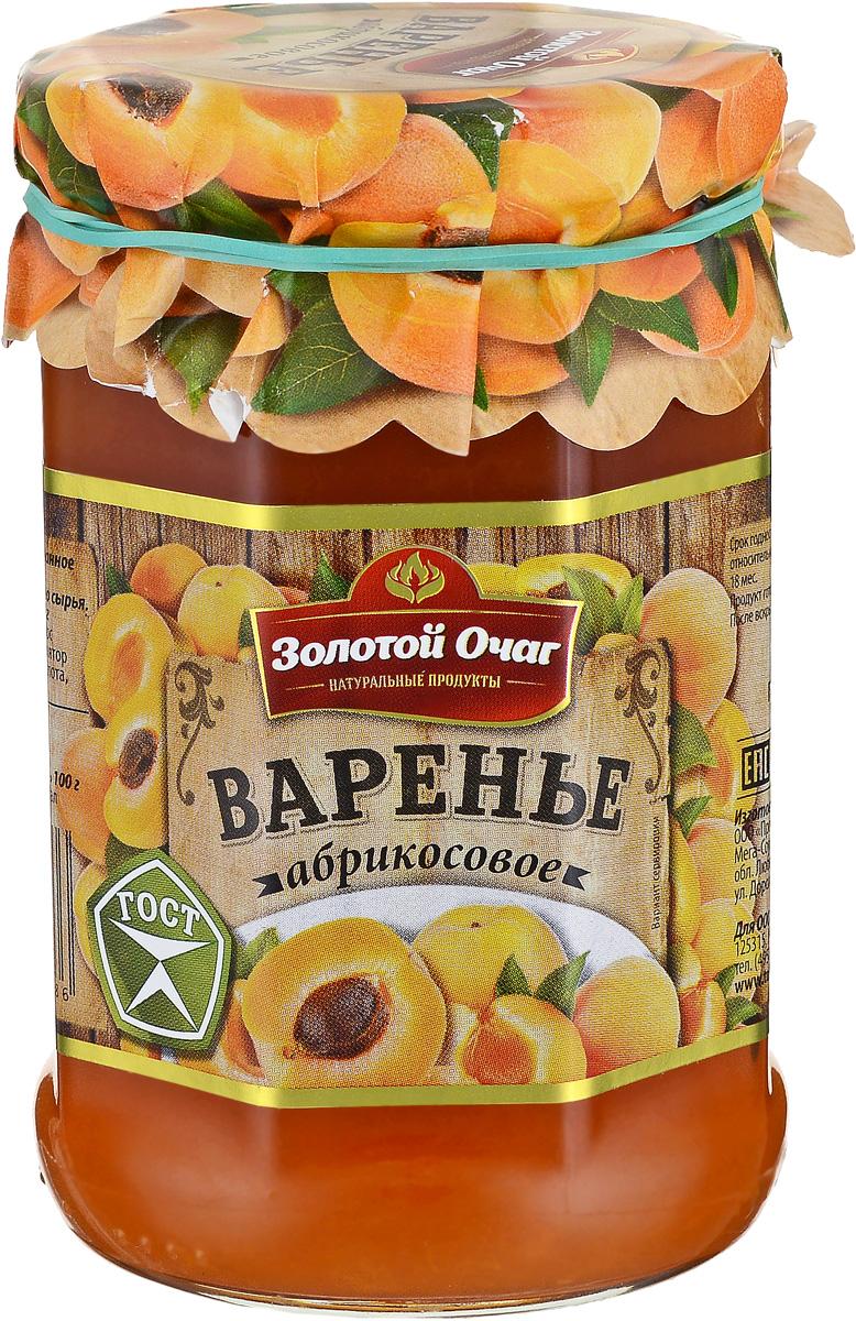 Золотой Очаг варенье абрикосовое, 380 г