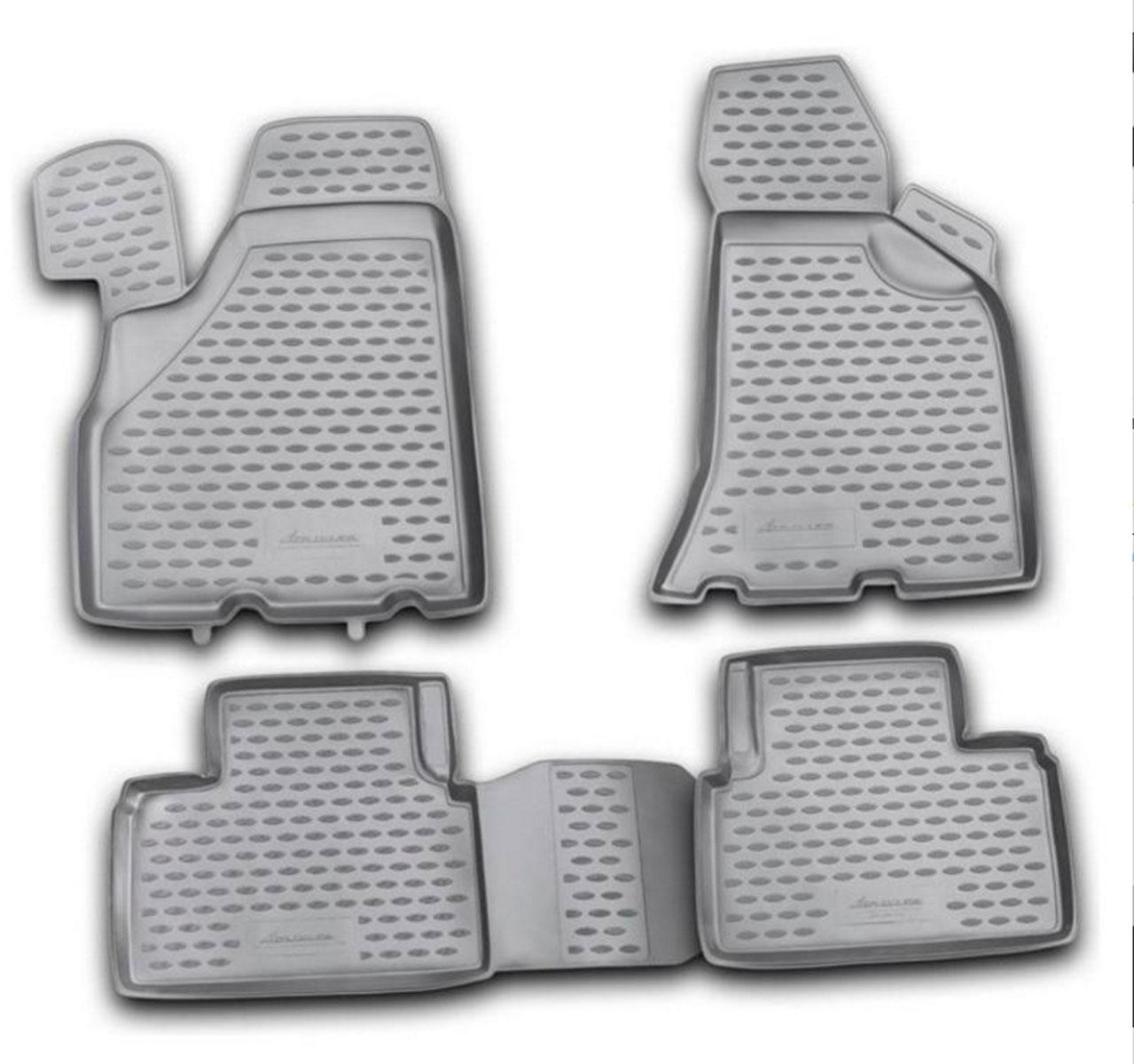 Коврик в салон автомобиля Novline-Autofamily для Lada Priora, 2010 -NLC.52.21.210kflКоврик Novline-Autofamily улучшит внешний вид салона автомобиля и надежно убережет его от пыли, грязи и сырости, а значит, защитит кузов от коррозии. Полиуретановый коврик гладкий, приятный и не пропускает влагу. Полиуретановый автомобильный коврик произведен из высококачественного материала, который держит форму и не пачкает обувь. Коврик надежно крепится на полу и не скользит, что очень важно во время движения, особенно для водителя. Изделие из полиуретана надежно удерживает грязь и влагу, при этом всегда выглядит довольно опрятно. И чистится он очень просто: как при помощи автомобильного пылесоса, так и различными моющими средствами.