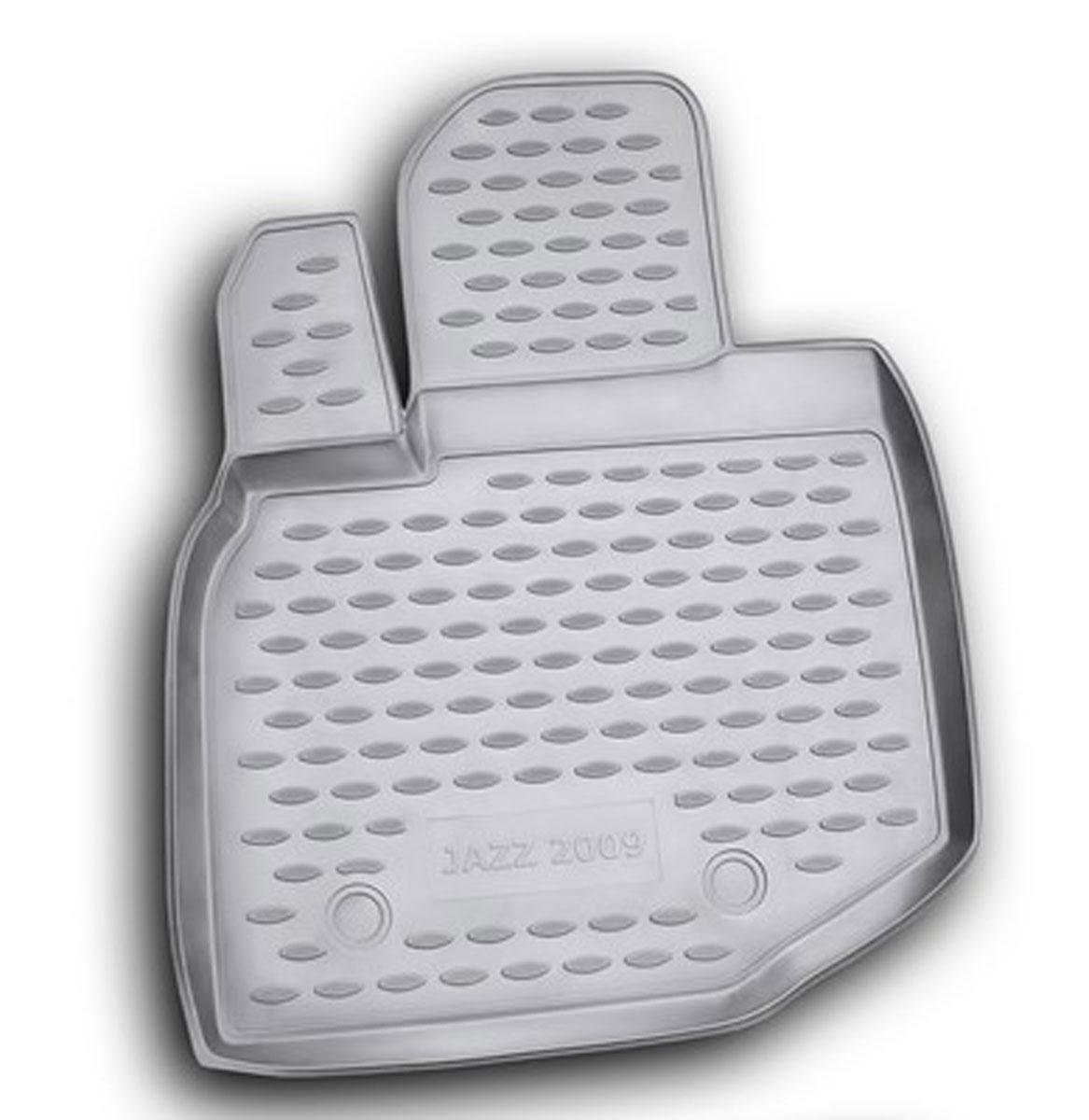 Коврик в салон автомобиля Novline-Autofamily для Honda Jazz, 2009 -, передний левыйNLC.18.19.210flКоврик Novline-Autofamily улучшит внешний вид салона автомобиля и надежно убережет его от пыли, грязи и сырости, а значит, защитит кузов от коррозии. Полиуретановый коврик гладкий, приятный и не пропускает влагу. Полиуретановый автомобильный коврик произведен из высококачественного материала, который держит форму и не пачкает обувь. Коврик надежно крепится на полу и не скользит, что очень важно во время движения, особенно для водителя. Изделие из полиуретана надежно удерживает грязь и влагу, при этом всегда выглядит довольно опрятно. И чистится он очень просто: как при помощи автомобильного пылесоса, так и различными моющими средствами.